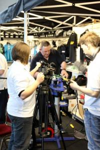 Being televised at the National Championships
